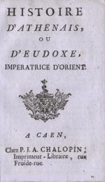 page de titre du livret de colportage