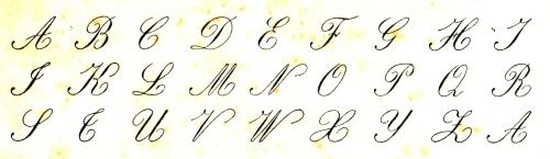 A charleux pour crire de la main gauche conseils pratiques 1917 - H en majuscule ...