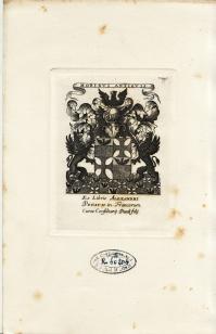Ex-libris d'Alexandre PETAU (4.722 ko)