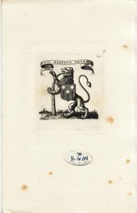 Ex-libris anonyme d'AUZOLES DE LA PEYRE (4.371 ko)