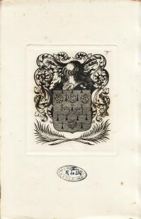 Ex-libris anonyme de François DE MALHERBE (4.860 ko)