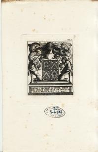 Ex-libris d'André FÉLIBIEN (4.675 ko)