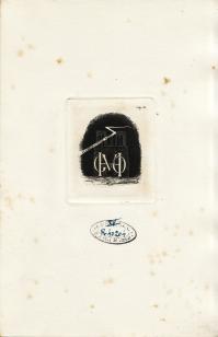 Ex-libris de M. Victor HUGO (4.200 ko)