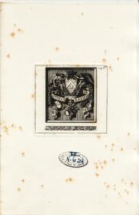 Ex-libris de M. Octave de ROCHEBRUNE (4.520 ko)