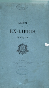Album des ex-libris français (couv.)