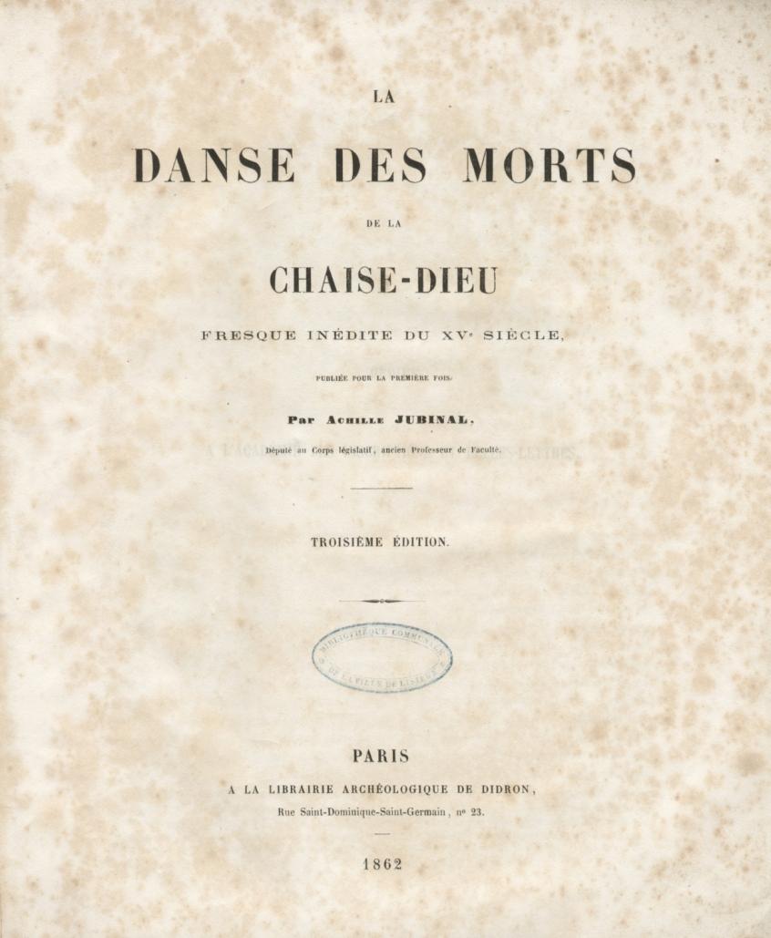 Morts De Danse Chaise AJubinalLa Des DieuFresque Inédite HW2eED9IY