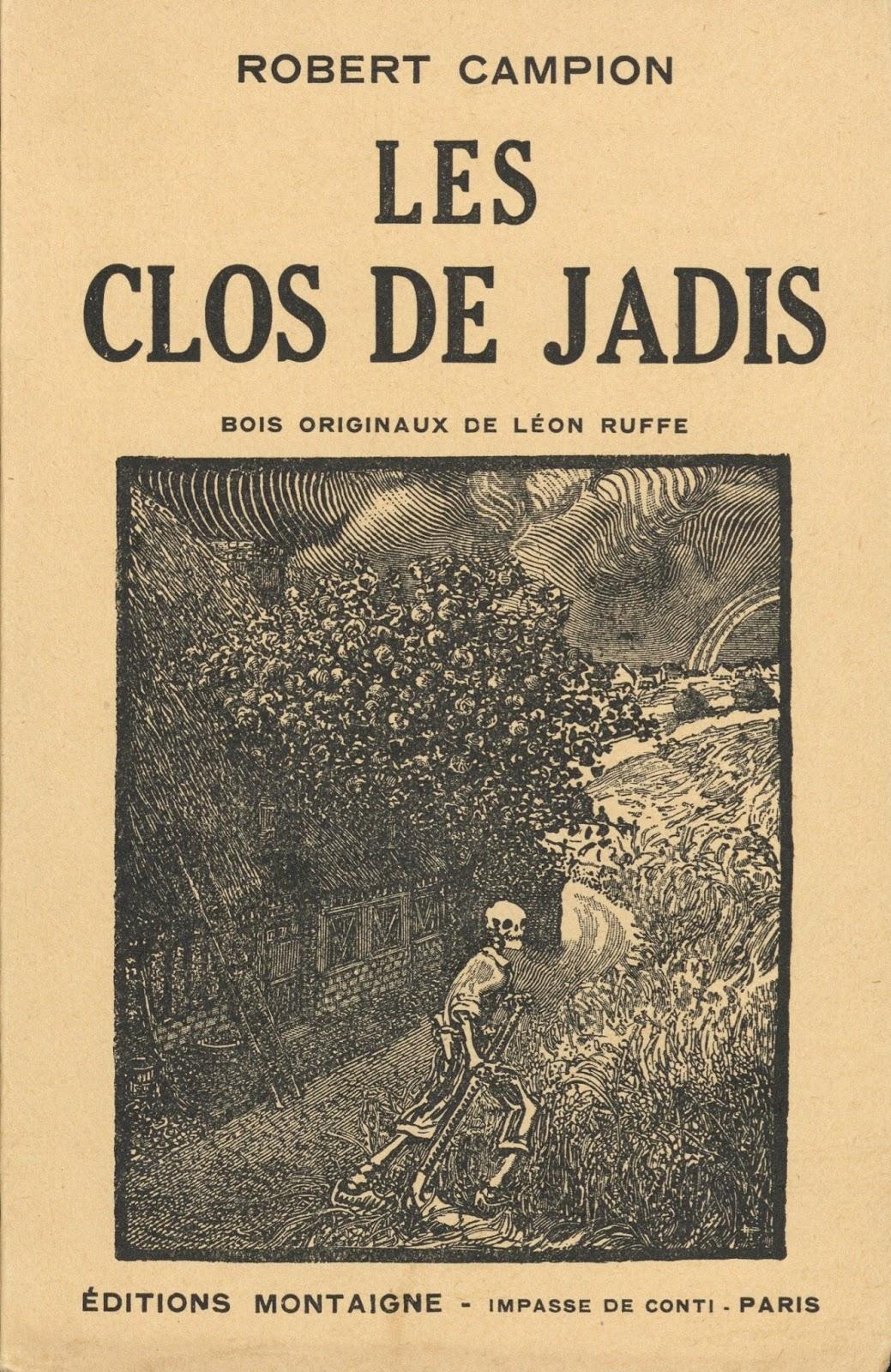 R. Campion   Les Clos de Jadis   Tableaux des mœurs normandes (1926) 267f19167471